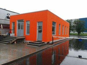 Пример утепленного фасада дома