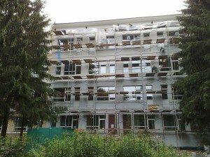 Процесс наружного фасадного утепления дома