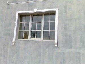 Пример утепленной наружной стены вокруг окна
