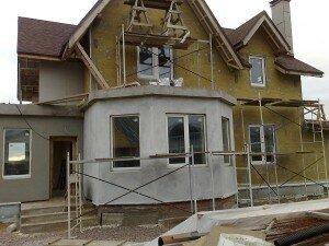 Процесс фасадного утепления изнутри