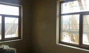 машинная штукатурка стен в квартире